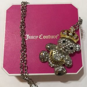 Juicy Couture Bear Necklace